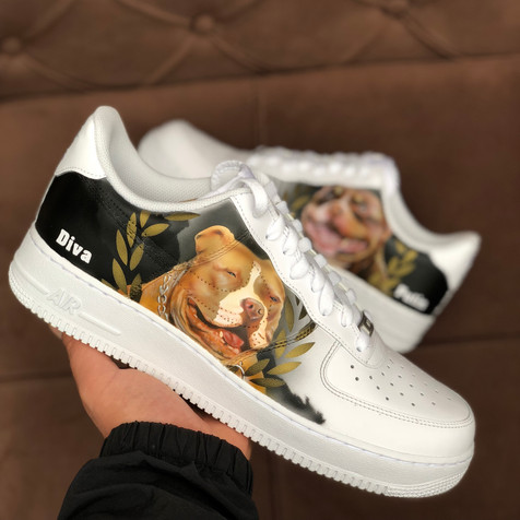 Dog Portrait 3 by Sneaker Surgery