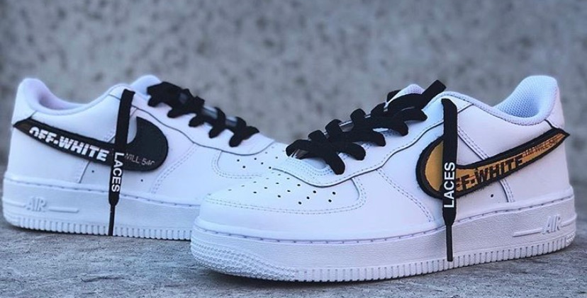 Air Force 1 Off White Swoosh Pack
