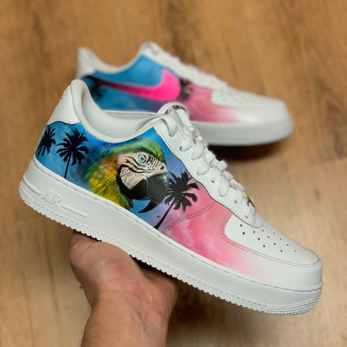 Miami Beach 2.Custom by Sneaker Surgery
