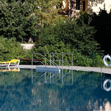 Erlebnisbecken unseres Sommerbads (nur während der Sommersaison geöffnet). Foto: Peter Lorenz