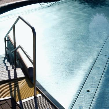 Erlebnisbecken unseres Freibads (nur während der Sommersaison geöffnet). Foto: Peter Lorenz