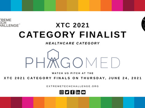 PhagoMed named a Finalist in Extreme Tech Challenge 2021