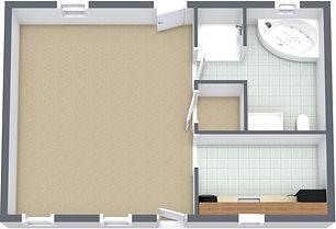 Studio Suite - Sango - 1. Floor - 3D Flo