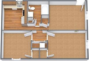 2 Bedroom Flat - Sango - No Furniture -