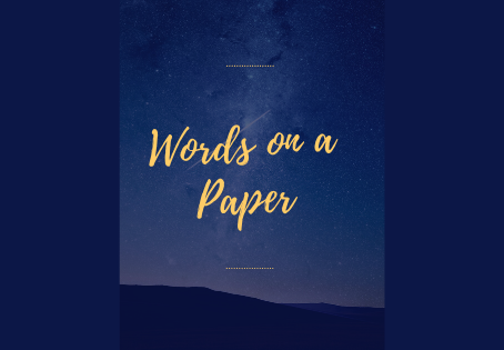 Words on a Paper