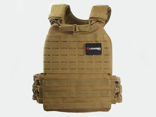 Loaded Weight Vest Camel