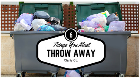 6 Things You Must Throw Away