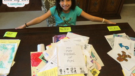 Getting Kids Involved With Sorting School Papers