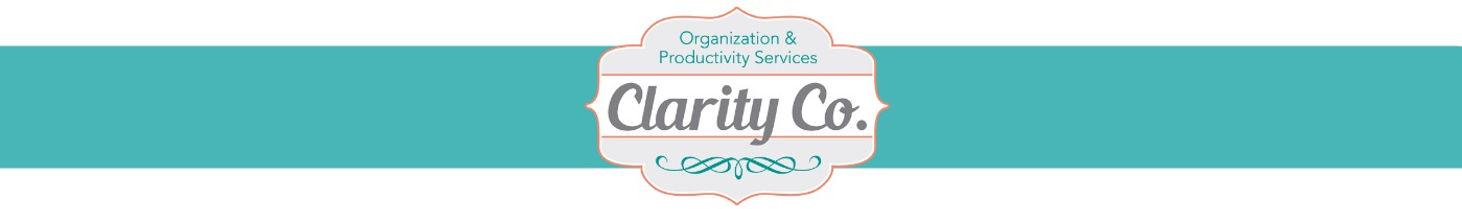 Clarity Co., LLC logo for Professional Organizer