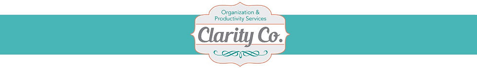 Clarity Co. Organization & Productivity Services