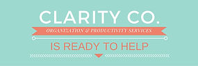 Clarity Co., LLC Professional Organizer | Productivity Coach