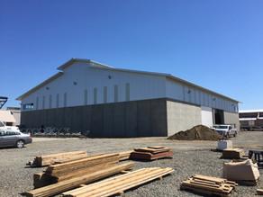 VGF Farms- Receiving Slab and Processing Building