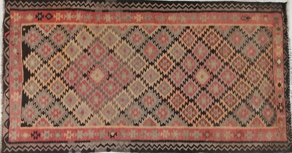 Kilim antiguo persa 100 % lana