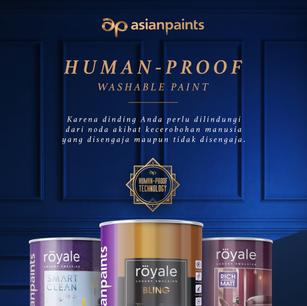 asian paints: human-proof paint