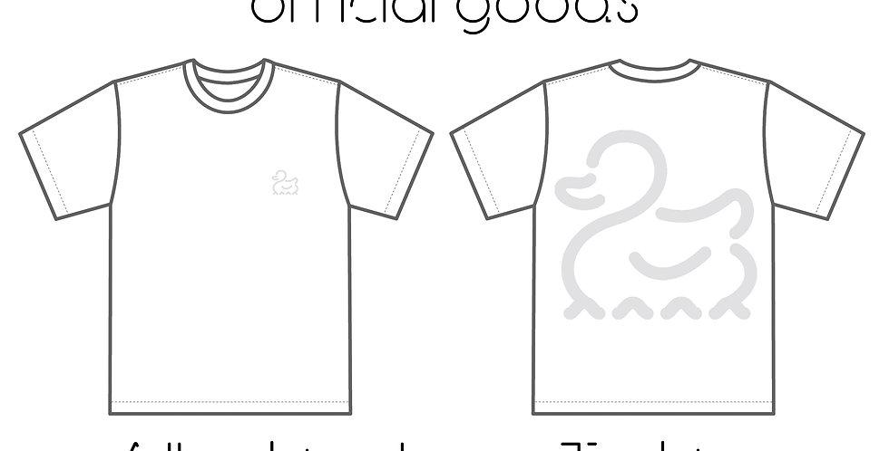 All White logo T-shirts