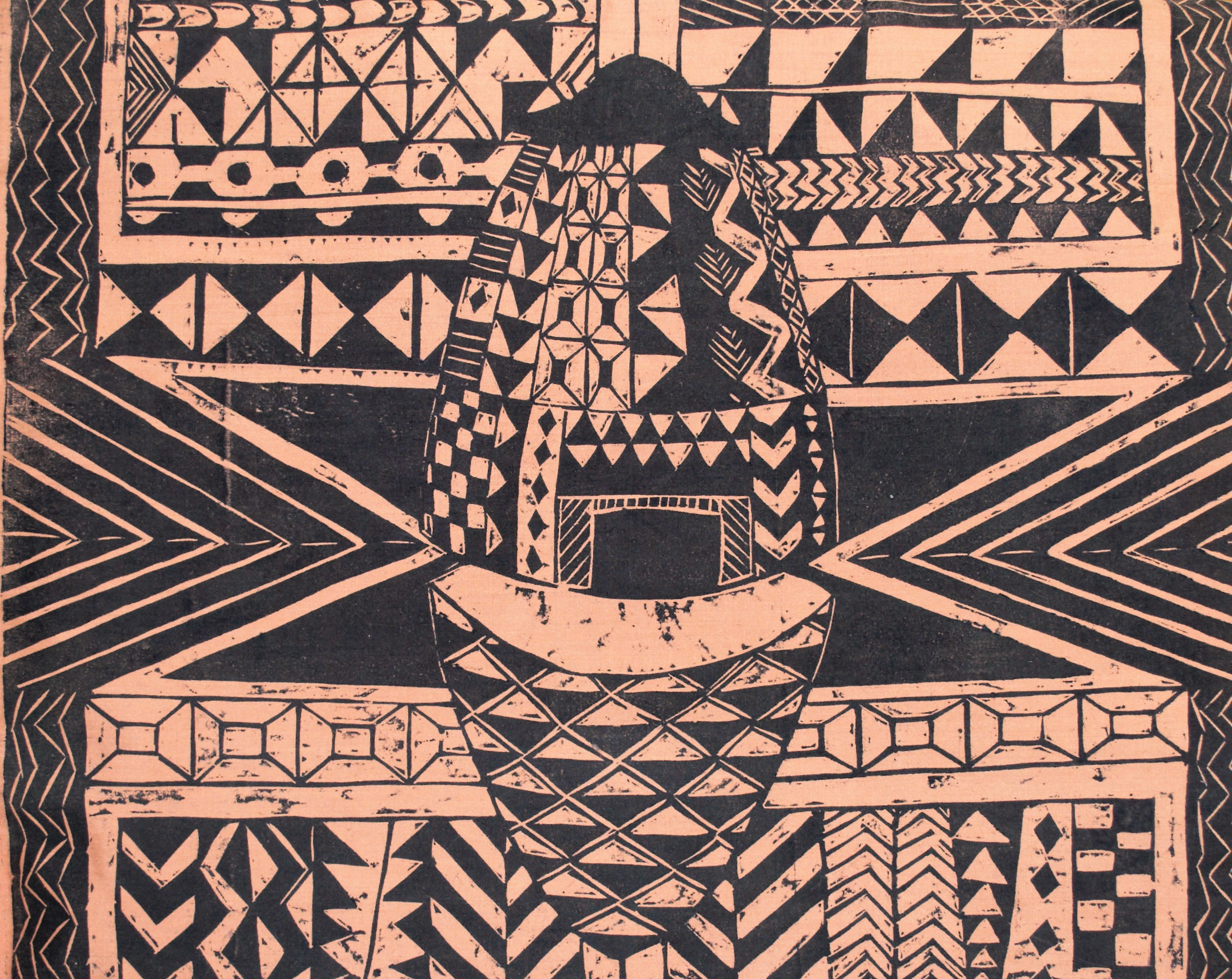 Cltural Pattern Study (Africa) #1
