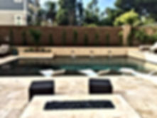 Custom Swimming Pool Designed by Bay Water Pool & Spa's