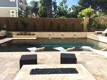 Custom Swimming Pool Designed by Bay Water Pool & Spa's