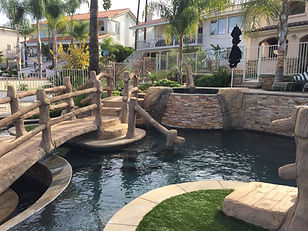 Artificial Rock Swimming Pool and Spa
