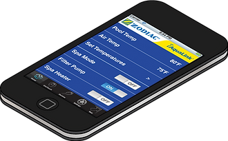 iphone with jandy iaqualink smartphone remote app for pool automation