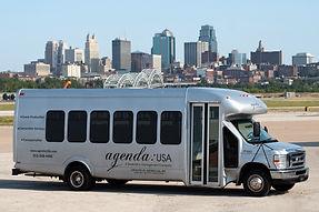 Transportation shuttle bus