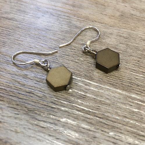 Hexagonal Earring