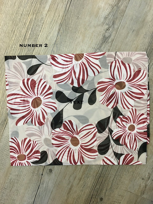 Cotton & Silk Scarves Design 2