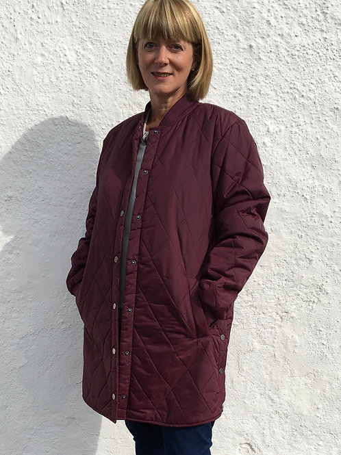 Canna Quilted Coat