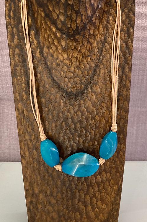 Semila Necklace (Turquoise)