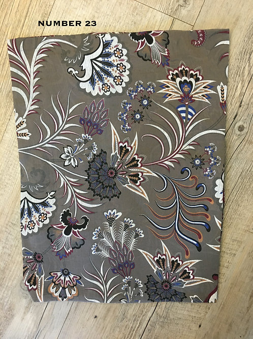 Cotton & Silk Scarves Design 23