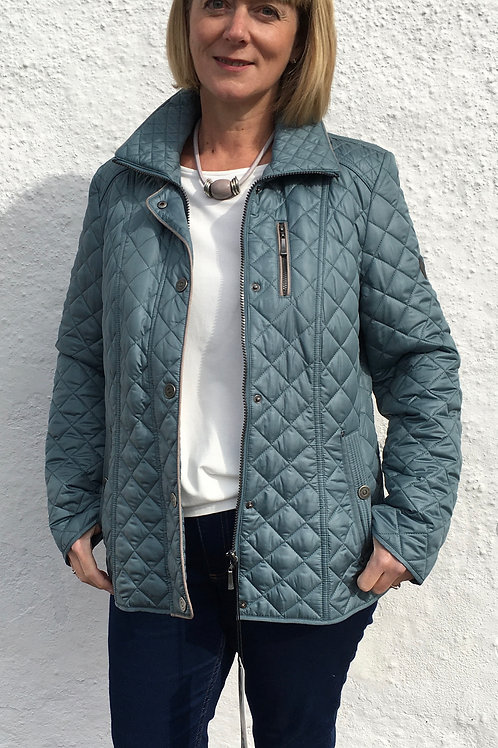 Quilted Teal Jacket