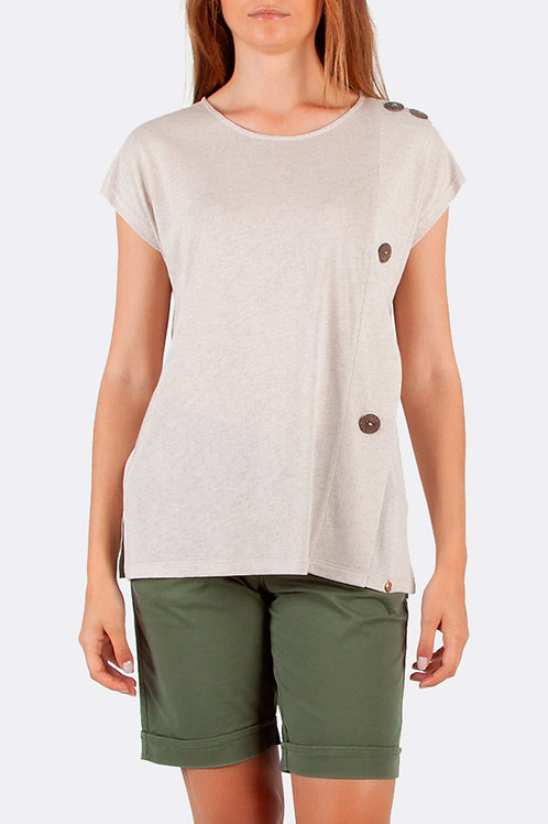 Loose Fit Panel Button Top