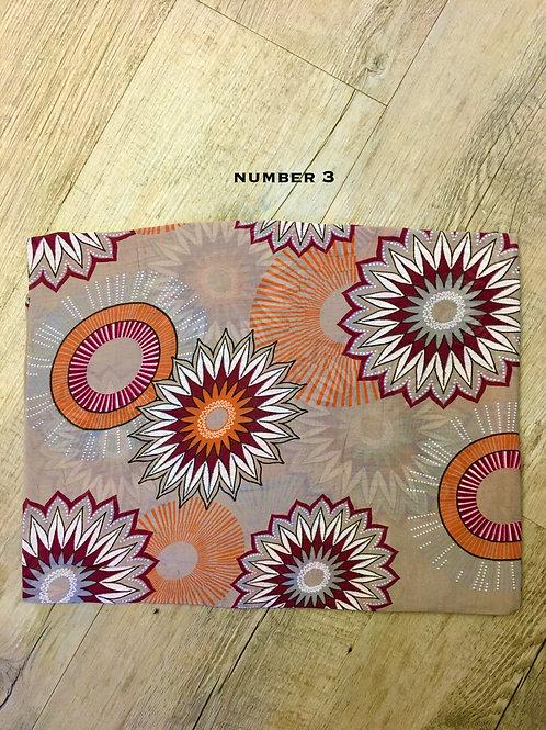 Cotton & Silk Scarves Design3