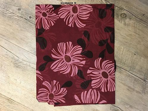 Cotton & Silk Scarves Design 9