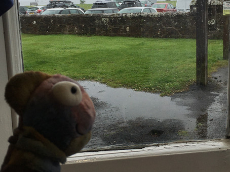 A rainy day...