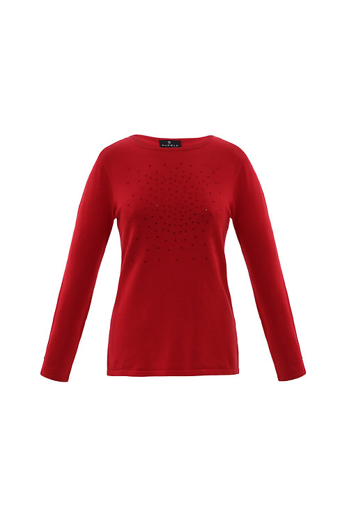 Red Sequin Knit