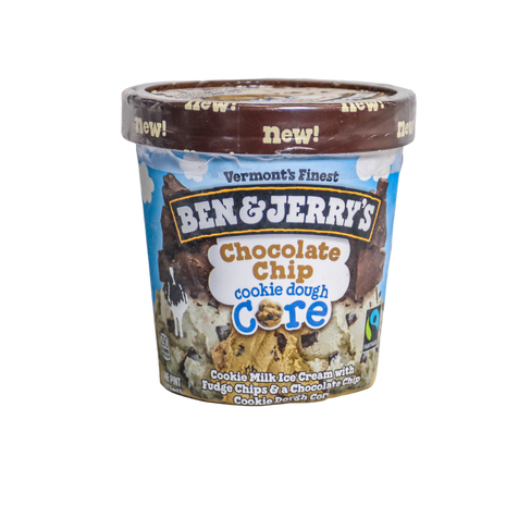 Ben and Jerry's Chocolate Chip Cookie Dough Core
