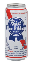 Pabst and Pabst Extra Cans 16oz