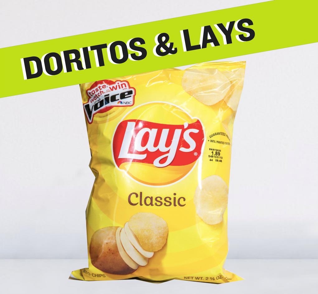 Doritos & Lays XXVL
