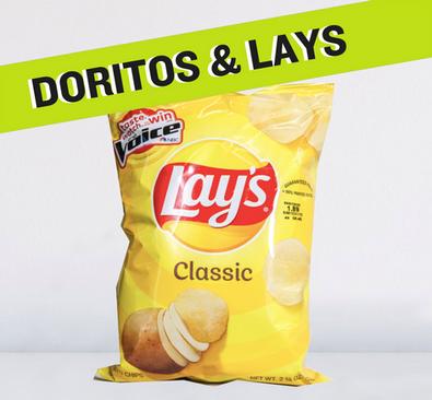 Doritos and Lays XXVL