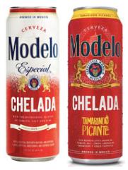 Modelo Chelada, Tamirindo, Limon Y Sal 24oz