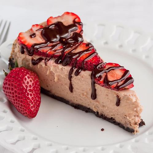 Chocolate Strawberry Cheese Strudel