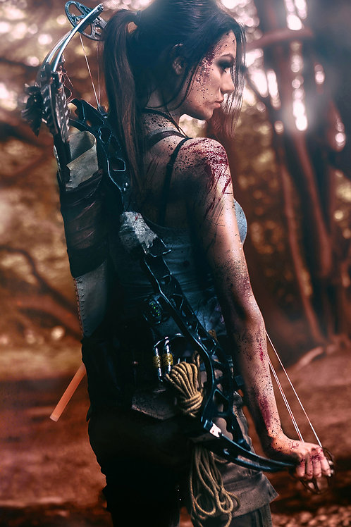 Tomb Raider 'Long Journey' Signed Poster