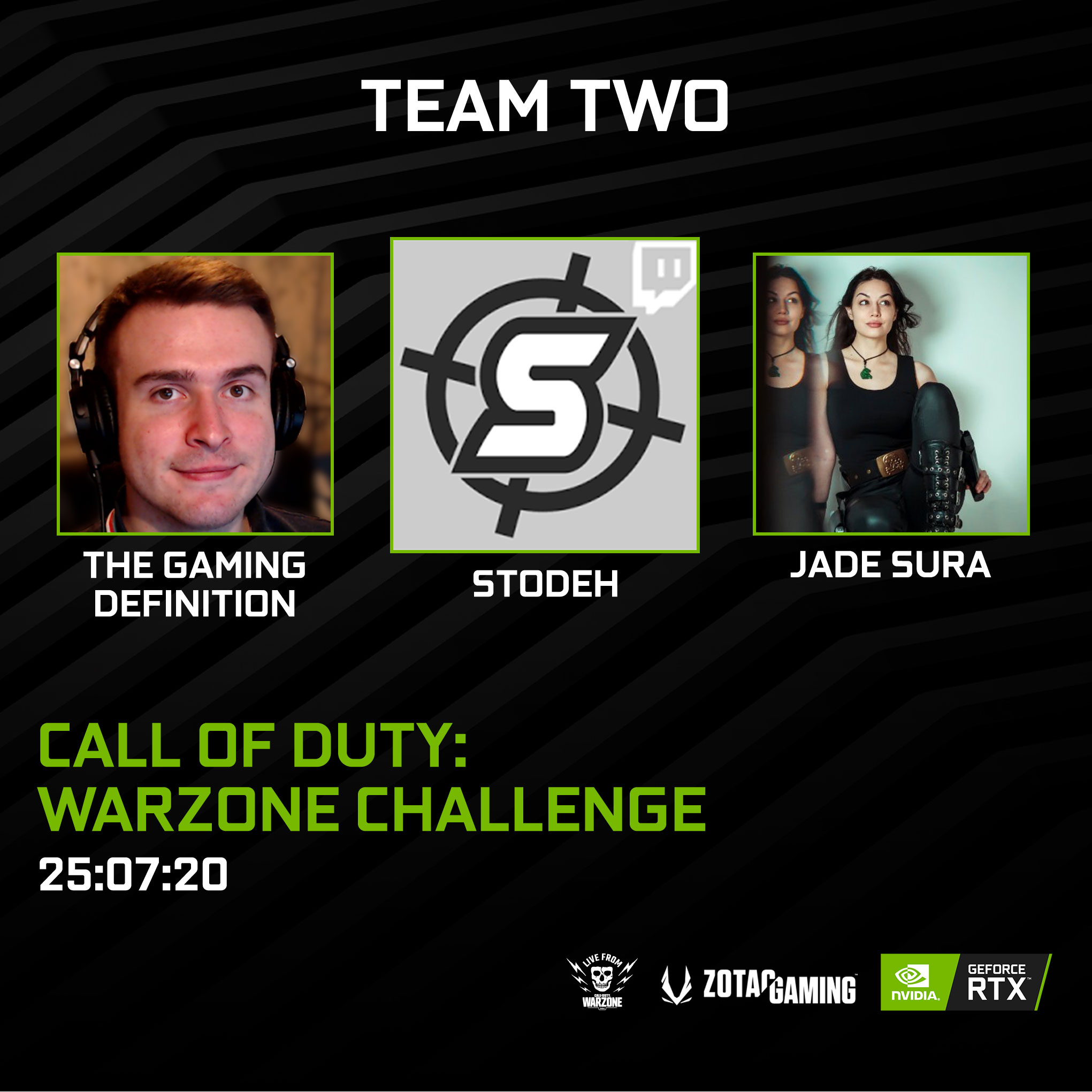 Jade Sura - Nvidia Call of Duty Warzone