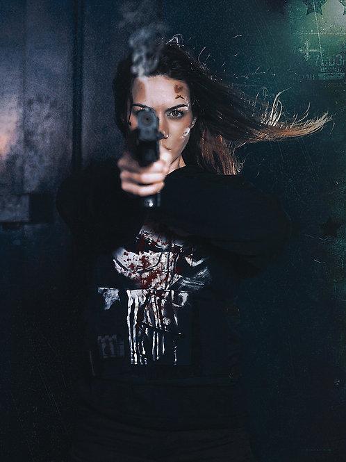 The Punisher 'Gun Shot' Signed Poster