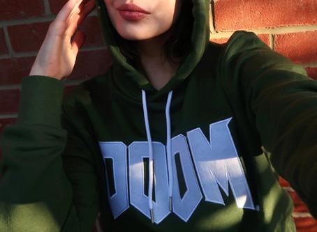 Actual DOOM but in hoodie form.