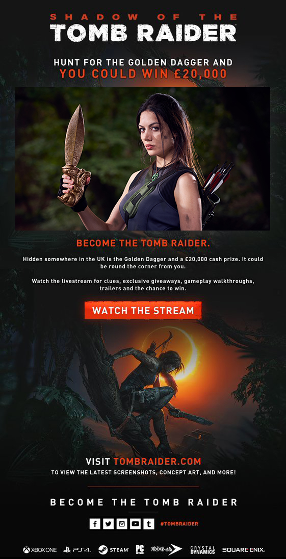 Jade Sura - Tomb Raider Launch