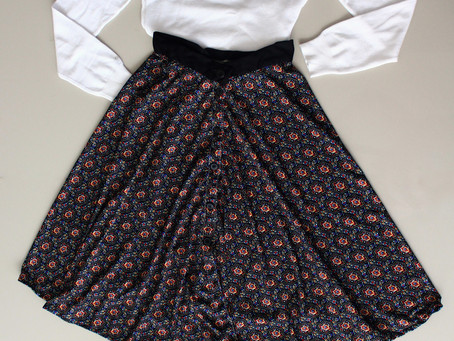 Learn How To Sew Your Perfect Midi Skirt