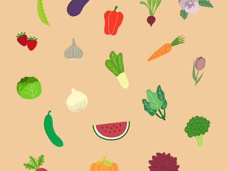 A guide for planting and eating seasonal Fruits and Veggies