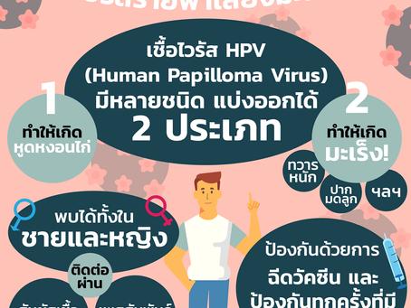 HPV ไวรัสร้ายพาเสี่ยงมะเร็ง